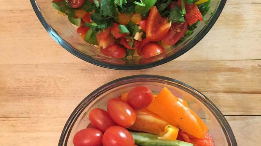 Légumes frais-salade